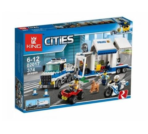 Конструктор Queen Cities 02017 / 82013 Мобильный командный центр