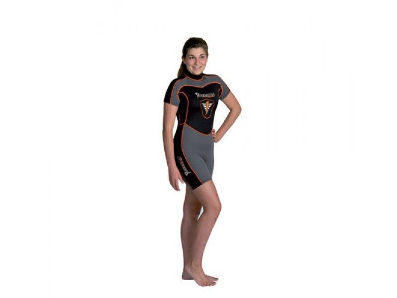 Гидрокостюм-шорти Imersion florida 3 мм, дайвинг/серфинг, детский