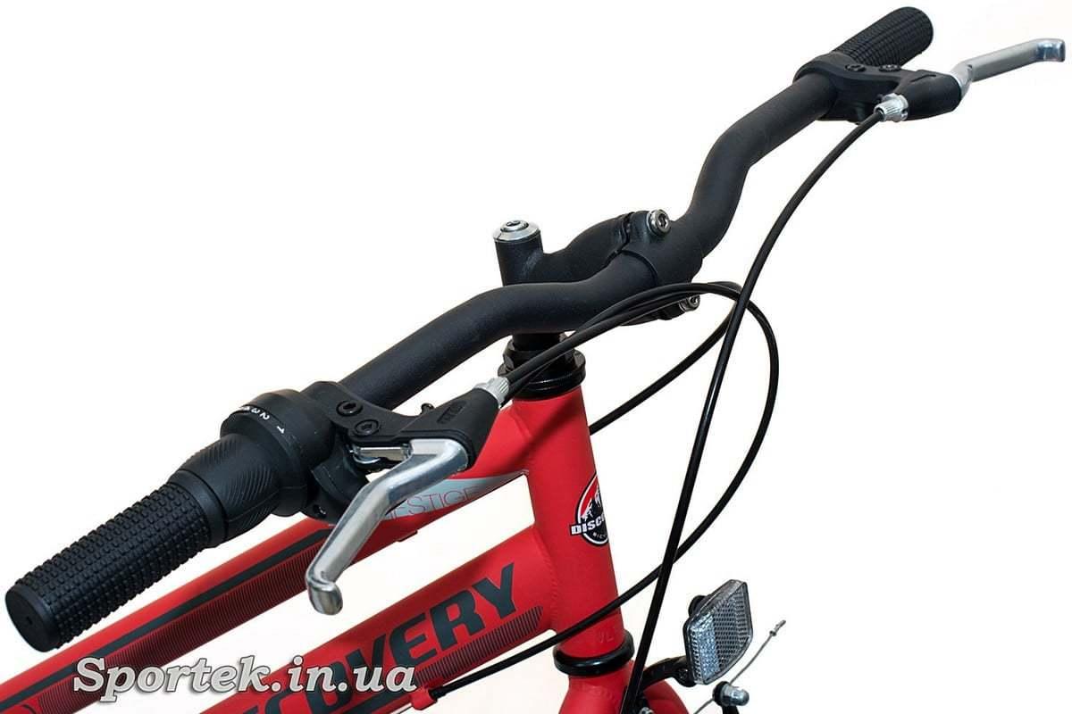 Кермо міського жіночого велосипеда Discovery Prestige Woman