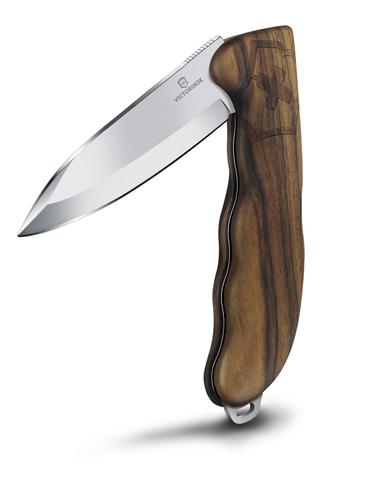 Нож Victorinox Hunter Pro, 136 мм, рукоять из орехового дерева