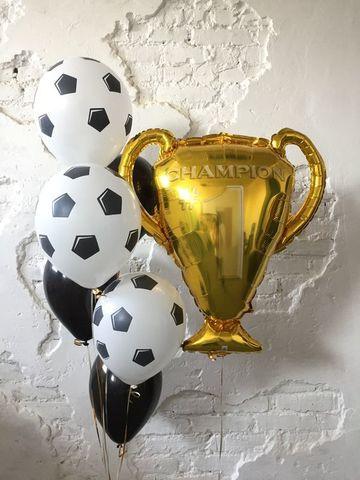 Фонтан из шаров Кубок Чемпиону