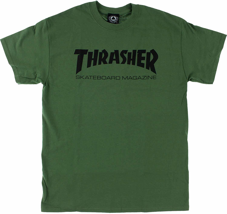Футболка THRASHER Skate Mag Army