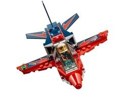 Конструктор Сити 02098 Реактивный самолет 91дет.