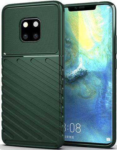 Чехол Carbon для Huawei Mate 20 Pro/20 RS серия Оникс | зеленый