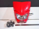 Фара эндуро Kawasaki KLX 250 красная