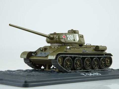 Tank T-34-85 Our Tanks #41 MODIMIO Collections