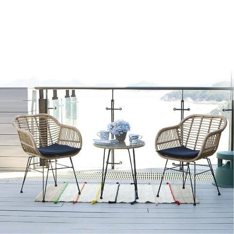 Комплект кофейный (стол и 2 кресла), 210334