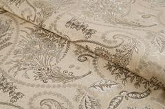 Жаккард Flora paisley light beige (Флора пейсли лайт бейдж)
