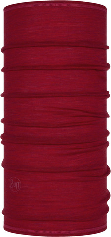 Тонкий шерстяной шарф-труба Buff Wool lightweight Barn Multi Stripes фото 1
