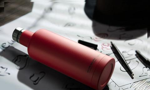 Термобутылка Asobu Times square (0,45 литра), красная