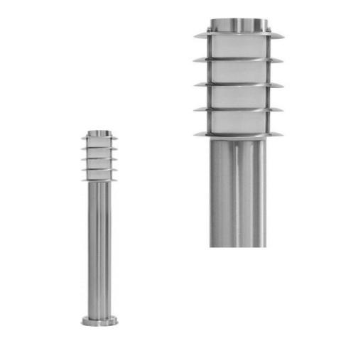 Садово-парковый светильник FERON DH027-650 18W 230V E27 серебро