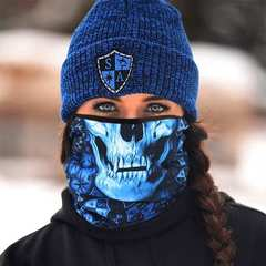 Шарф-труба SA Fleece Hydro Skull (с черепом) - 2