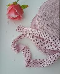 Розовый горошек ролик