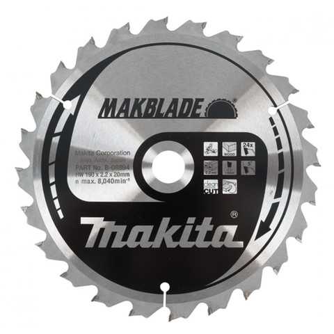 Диск по дереву MAKBLADE 305х30 мм /80T; 5°
