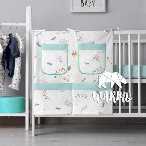 органайзер для ліжечка з весняним малюнком фото