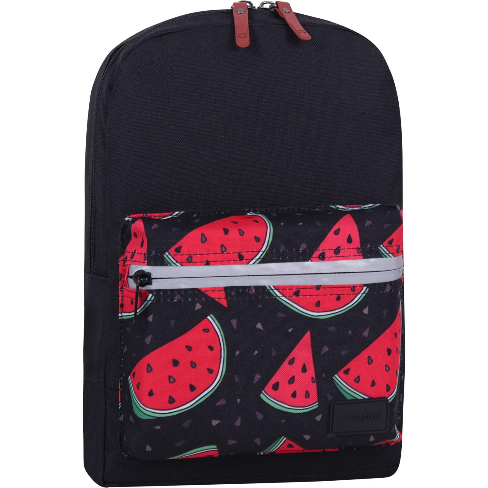 Молодежные рюкзаки Рюкзак Bagland Молодежный mini 8 л. черный 768 (0050866) IMG_7724_суб768_-1600.jpg