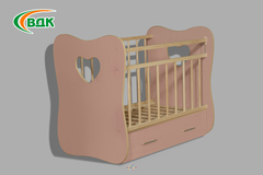 Детская кроватка «Vita» 1200х600