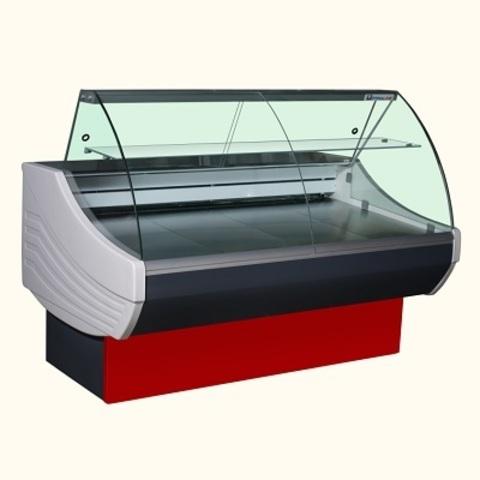 Холодильная витрина SIGMA 1500 V basic - IN ( 715 ) (1580х967х1233)   -6 +6
