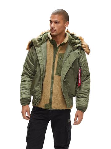 Куртка Alpha Industries N-2B Short Waist Parka (Sage Green)