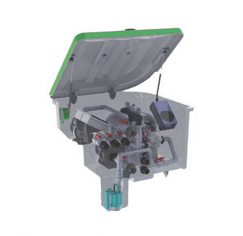 Комплексная фильтрационная установка AquaViva EMD-7SL (7м3/ч) / 23576
