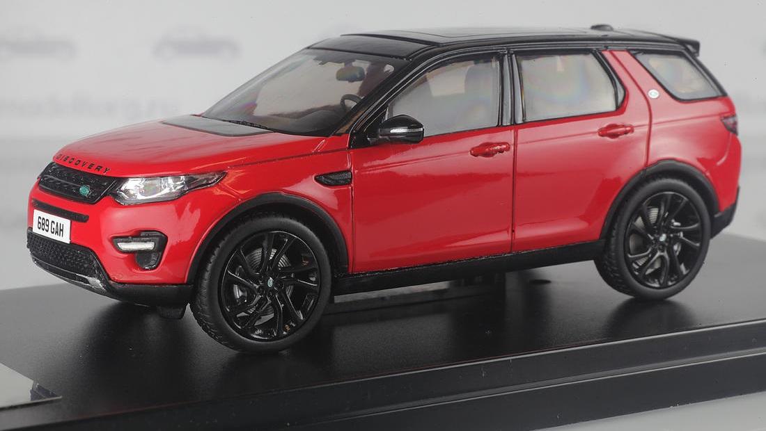 Коллекционная модель Land Rover Discovey Sport 2015