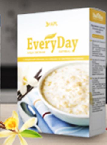 APL. Каша All-Time овсяная с натуральной ванилью со сливками 1 пакетик по 45 граммов