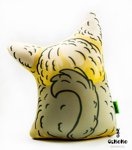 Подушка-игрушка антистресс Gekoko «Милый Йорк» 4