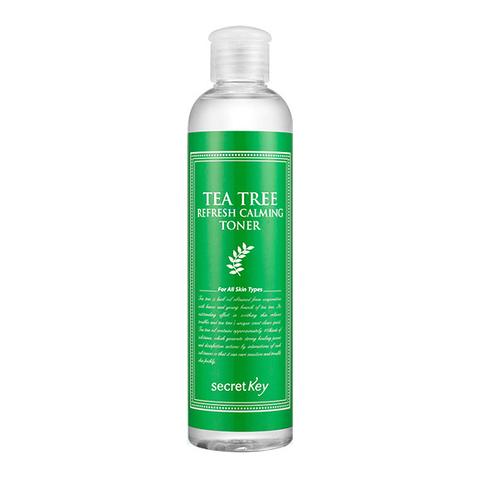 Secret Key Tea Tree Refresh Calming Toner Тонер с экстрактом чайного дерева для проблемной кожи