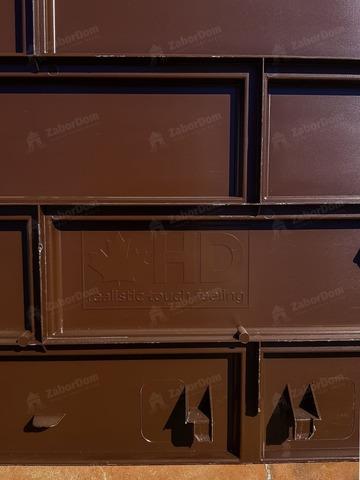 Фасадная панель Гранд Лайн Клинкерный кирпич Коричневый 1105х417 мм
