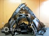 Комплект пластика серый  Kawasaki ZZR 400-2 ZZR 600-2