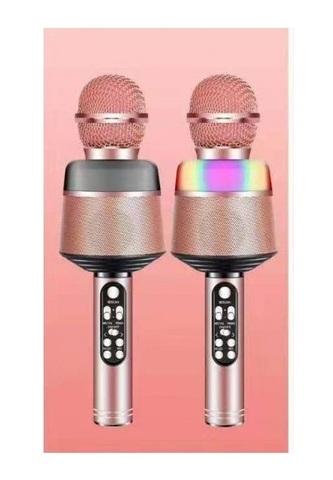 Микрофон Q008 розовый