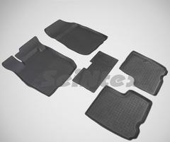 Резиновые коврики для LADA LARGUS, высокий борт