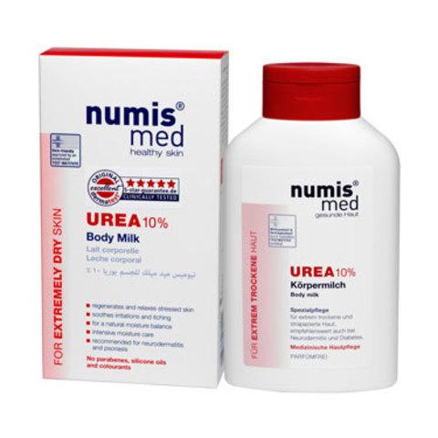 Молочко для тела с 10 % мочевиной Numis Med, 300 мл