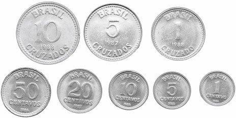 Набор из 8 монет