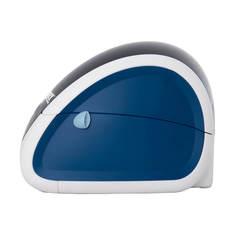 Термопринтер этикеток Mertech MPRINT LP58 EVA RS232-USB White-Blue, 203 dpi, термопечать, ширина 58 мм, 1D/2D, Честный Знак, ЕГАИС, QR-код, Bartender