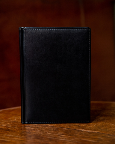 Набор с гравировкой: Ежедневник недатированный и ручка роллер Parker IM Achromatic Matte Black123