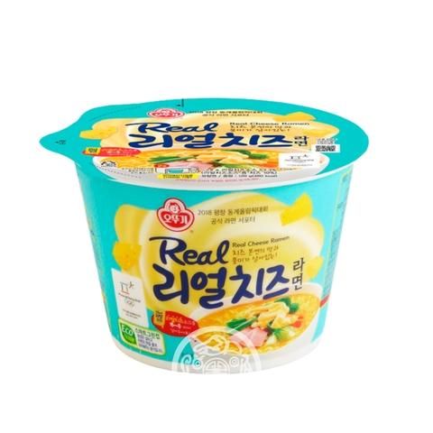 Лапша б/п OTTOGI Real Cheese Ramen со вкусом сыра 120г Корея