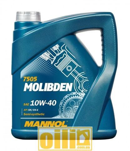 Mannol 7505 MOLIBDEN 10W-40 4л