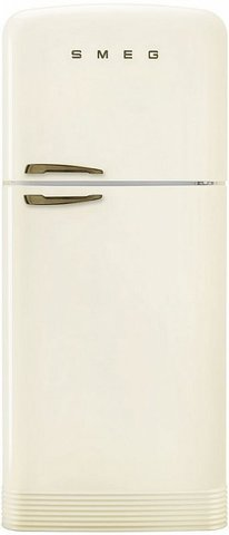 Холодильник с верхней морозильной камерой Smeg FAB50RCRB5