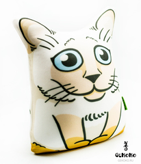 Подушка-игрушка антистресс Gekoko «Гордый Сиам» 3
