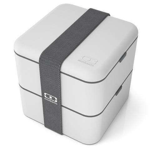 Комплект MB Pack Square st серый ланчбокс и термос