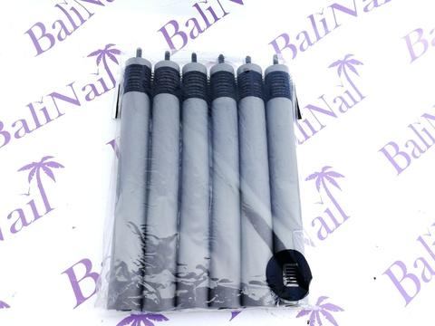Папильотки с липучкой, для более надежного закрепления пряди, (6шт/уп) 20*180 мм
