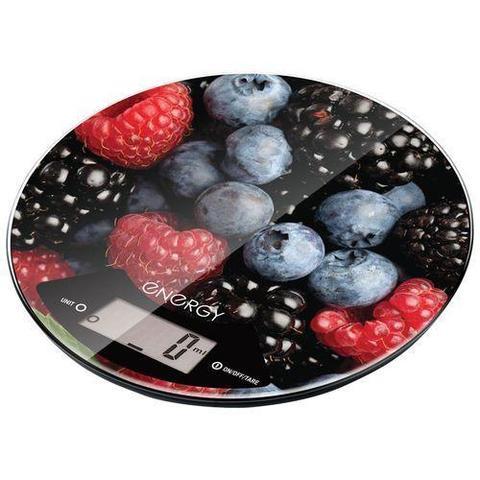 Весы кухонные электронные ENERGY EN-403 (ягоды) круглые