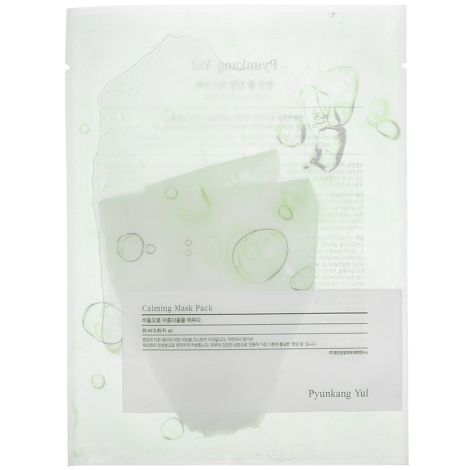 Маска тканевая Pyunkang Yul Calming Essence Mask Pack