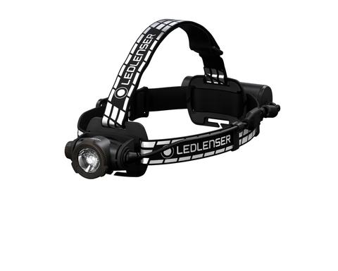 Фонарь светодиодный налобный LED Lenser H7R Signature, черный, 1200 лм, аккумулятор