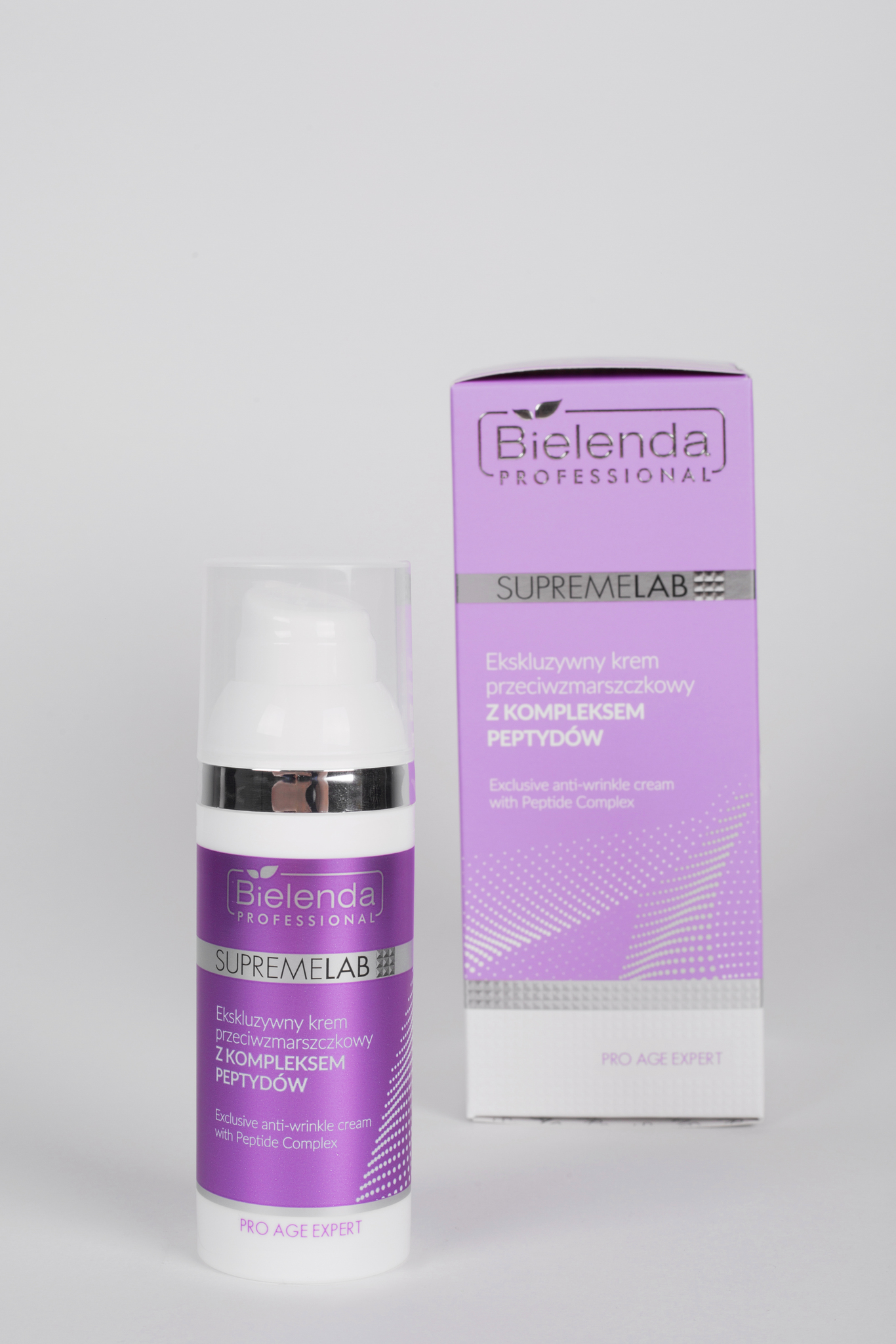 PRO AGE EXPERT Эксклюзивный крем против морщин с пептидным комплексом, 50 мл