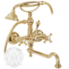 Смеситель для ванны с поворотным изливом Migliore Prestige ML.PRS-703 золото