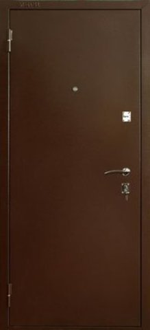 Дверь входная ДС-150 стальная, итальянский орех, 2 замка, фабрика Меги