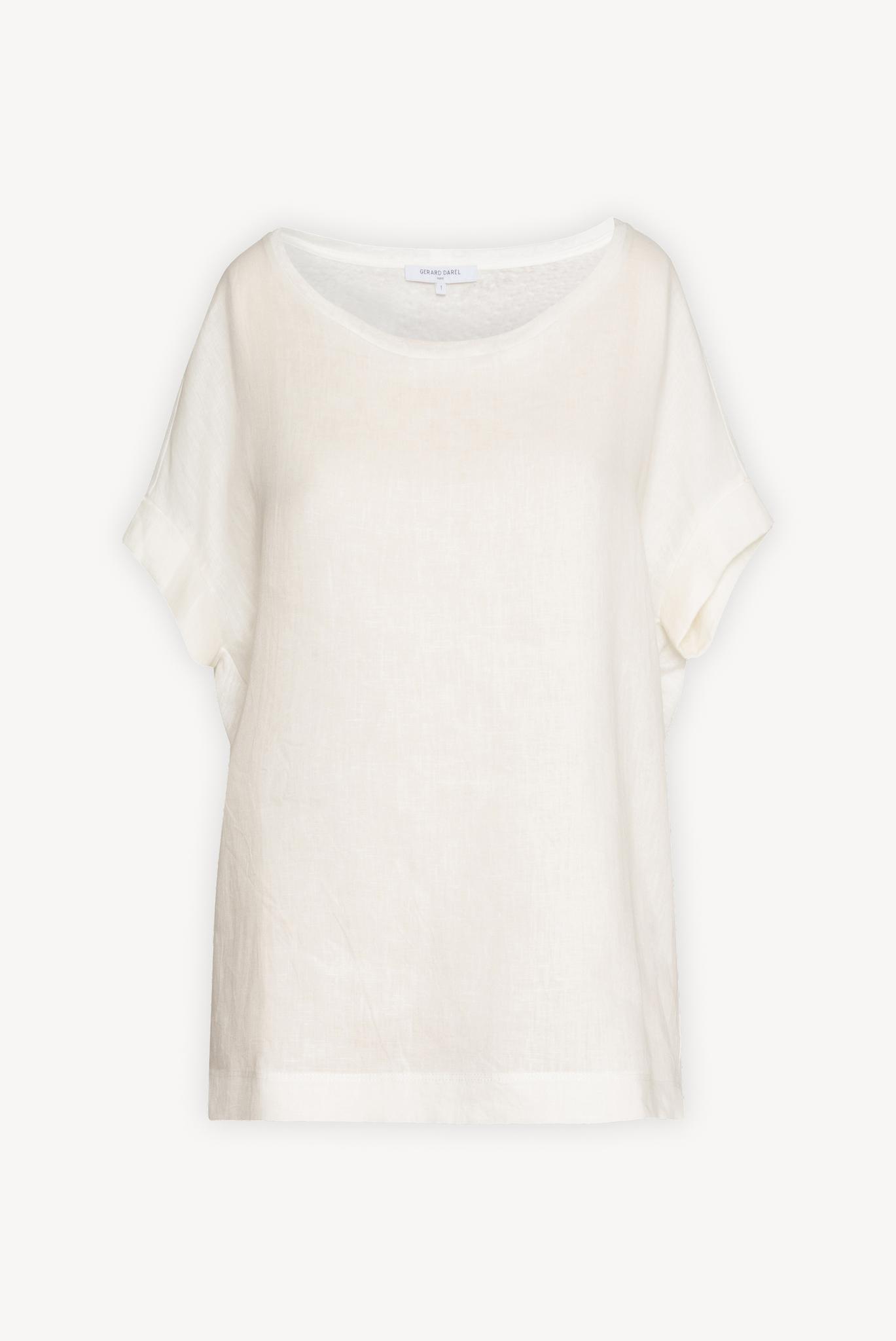 JANAE - Льняная футболка