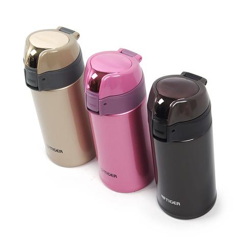 Термокружка Tiger MMQ-S (0,35 литра), розовая